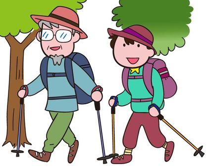 Trekking with a couple / partner
