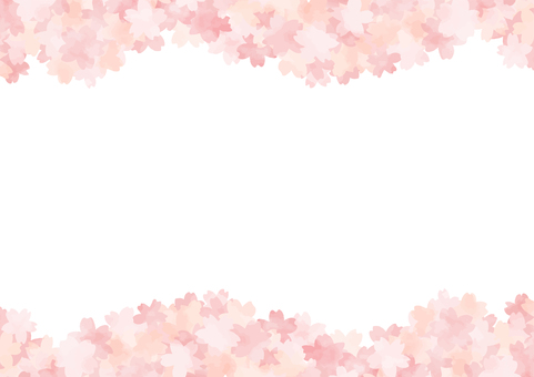 Hand-painted cherry background 7