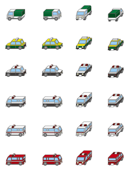 City series emergency vehicles and others