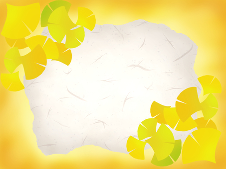 Gingko and Japanese paper