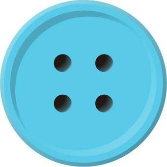 Four-hole button (skyblue)