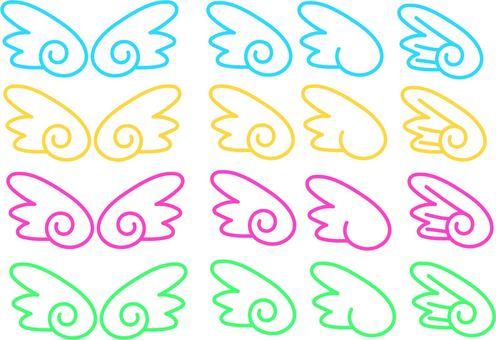 翼 セット