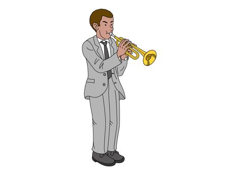 吹喇叭的人1