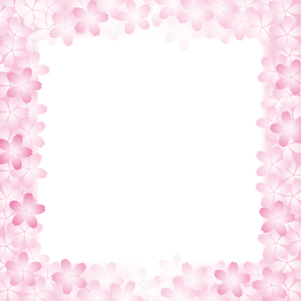Cherry blossom motif background material 18