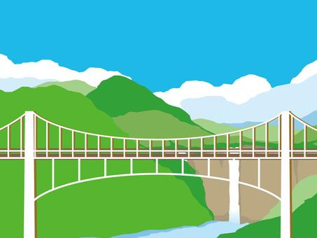Taki Bridge landscape