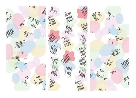 Crazy pattern background