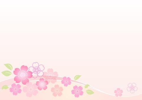 Cherry blossom material 141