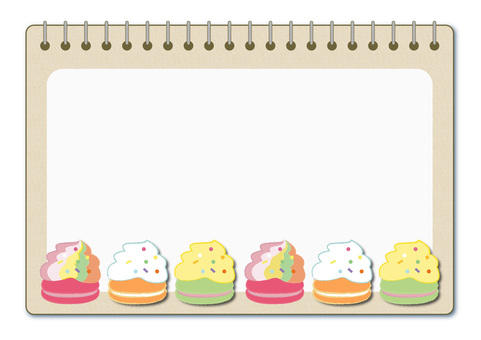 macaron_蛋白杏仁餅乾15_框架