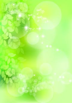 Taze rüzgar ve yeşil yapraklar 4