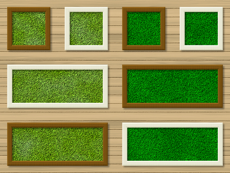 Title Frame Lawn Frame picture real
