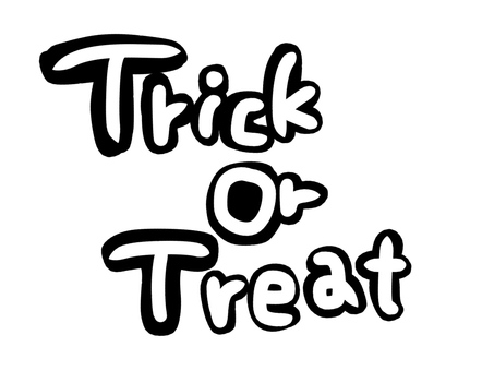 Trick or treating characters