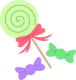 【Food】 Candy green