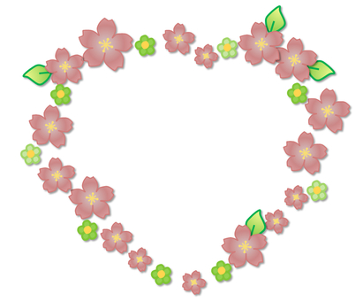 Decorative frame _ flower _ 10