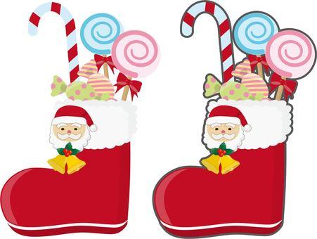 Christmas boots 2