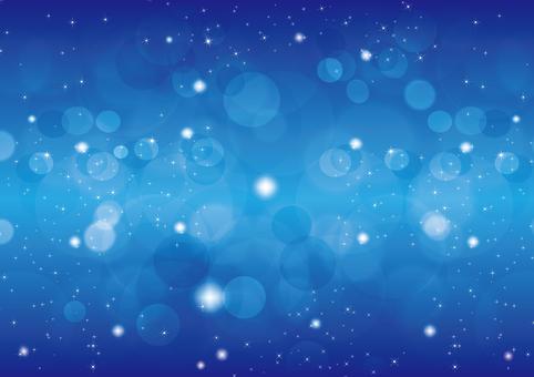 Blue Glitter 7