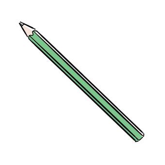 연필 (육각형)