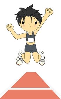 Running Jump Ladies