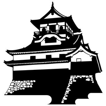 Inuyama Castle (Silhouette)