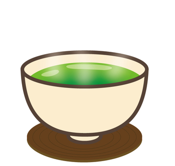 Green tea - 03 (with steam)
