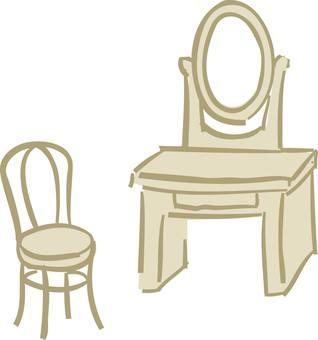 Dresser, dressing table