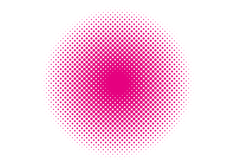 Dot screen tone · circle