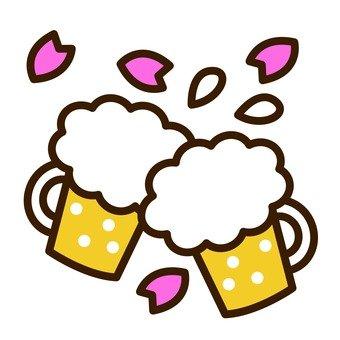 Cherry-blossom drink 01