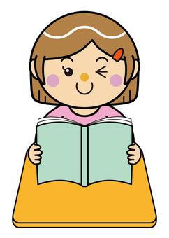 Girl 14_03 (reading)