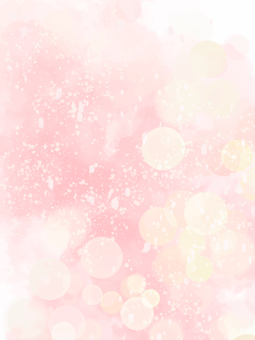Glitter fantastic background painting (pink)
