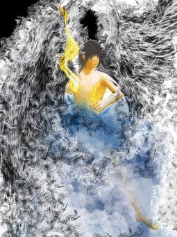 Angel illustration 01