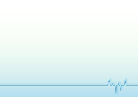 Waveform background blue