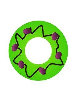 甜甜圈(綠茶)