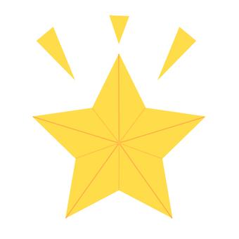 ぴかぴか・お星様イラスト - No: 1001875/無料イラストなら「イラストAC」