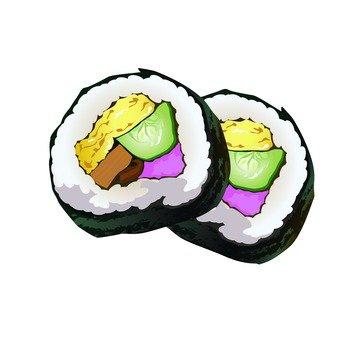 Sushi roll (Sakura Denpu)