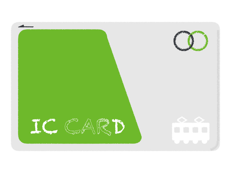 IC card periodic electronic payment green