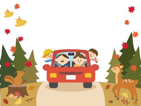 Family drive autumn 1