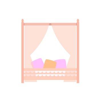 캐노피 침대