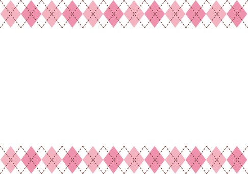 Pink plaid background 3