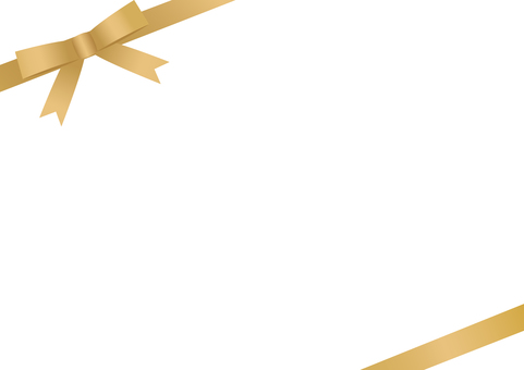 Wrapping frame <diagonal / gold>