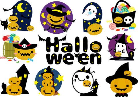 Halloween illustration Summary