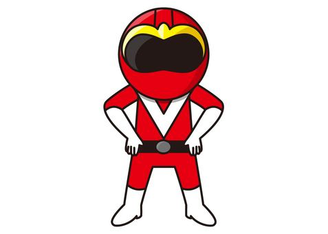 Red Ranger - Standing Pose