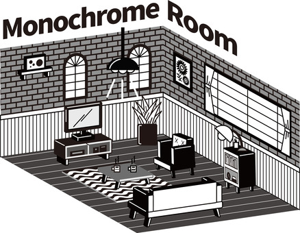 Monochrome Room