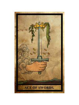 Tarot sword ace