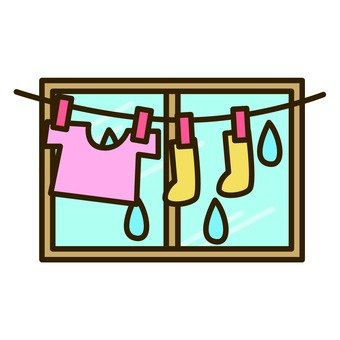 Rainy season - room drying