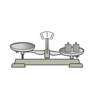 Upper balance and weight