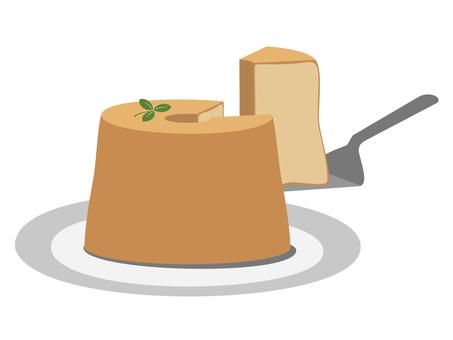 Chiffon cake plain