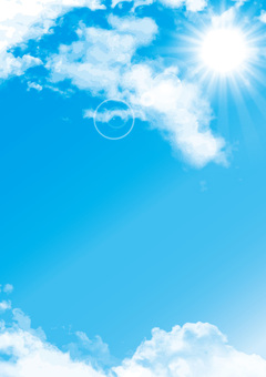 Blue sky clear sunny sky texture background material wallpaper picture