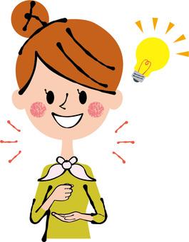 Indeed lightbulb woman women