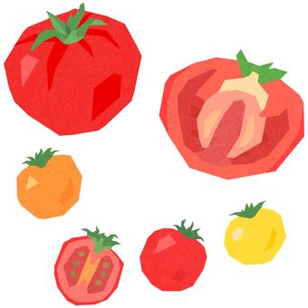 토마토와 방울 토마토 세트
