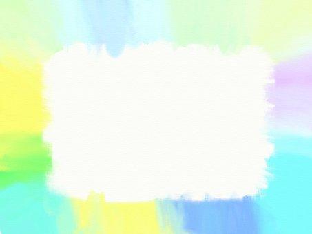 水彩般的框架