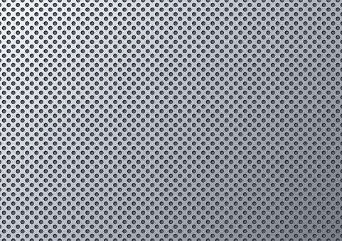 Punching metal wire mesh wallpaper